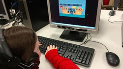 Computer at SCL School Glenview