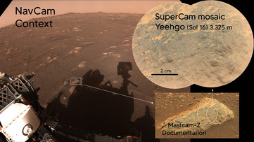 The French Remote Micro-Imager (RMI) provides high resolution color images from Mars !