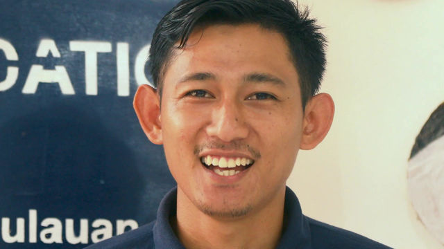 A message from Agus Supriyanto, Education Coordinator at The Island Foundation