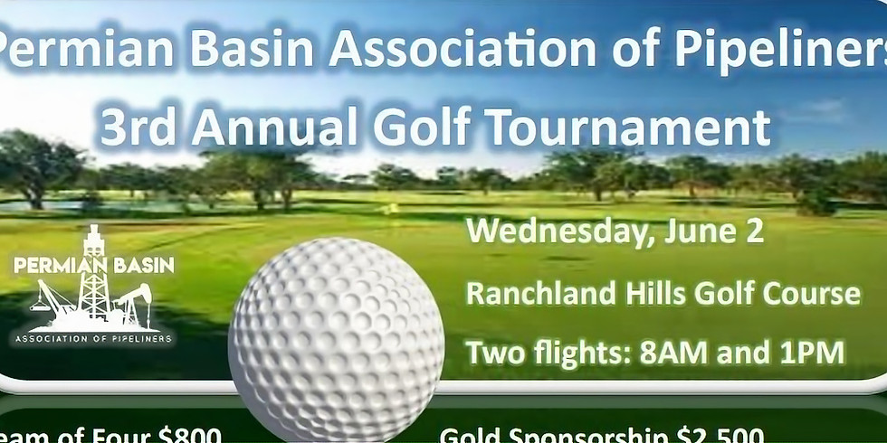 Permian Basin Association of Pipeliners 3rd Annual Golf Tournament