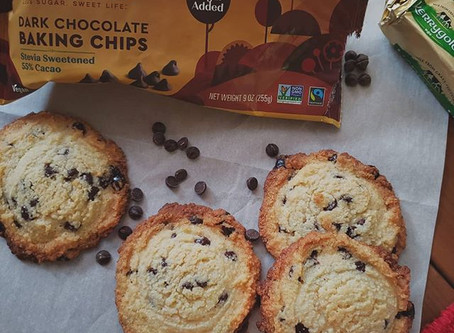 Chocolate Chip Cookies with 2 CARBS!