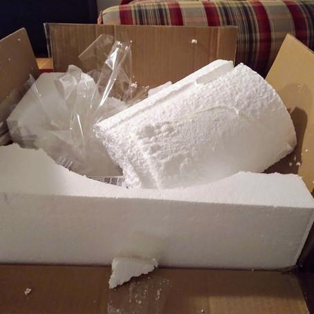 Styrofoam Explosion