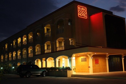 Night View of the Hotel