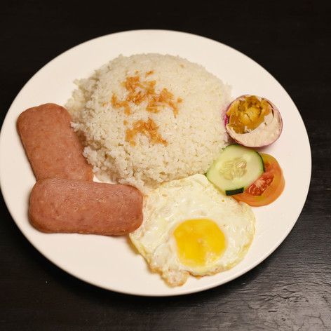 Spam Rice Meal