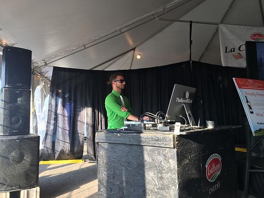 DJ A DJs and MC's for The Galbani Buffalo Italian Heritage Festival