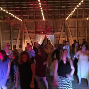 Big Barn Wedding Dance floor