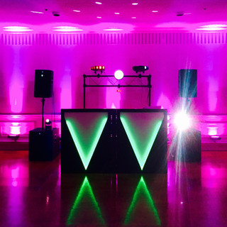High School Dance Setup