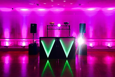 Nardin High School Junior Prom Setup at Grapevine Banquet Facility
