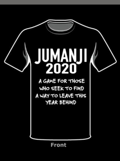 2020 Jumanji -Black Tee