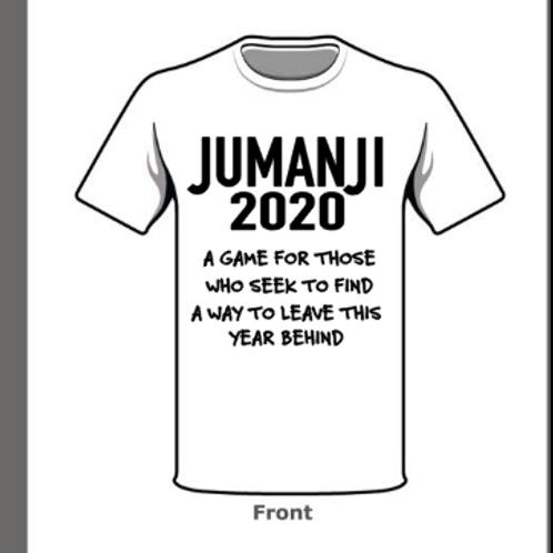 2020 Jumanji -White Tee