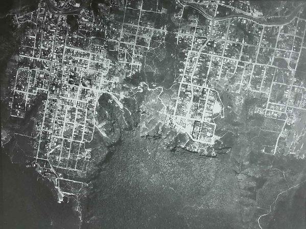 Katoomba Leura aerial map 1933 (BMHS)