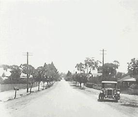 lurline street katoomba c1925, looking south