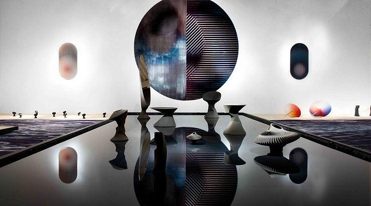 Stilled Life Ausstellung mit 3D-gedruckten Kunstobjekten von Rive Roshan und Sandhelden