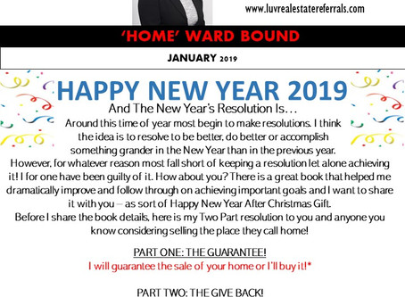 January 2019 Homeward Bound