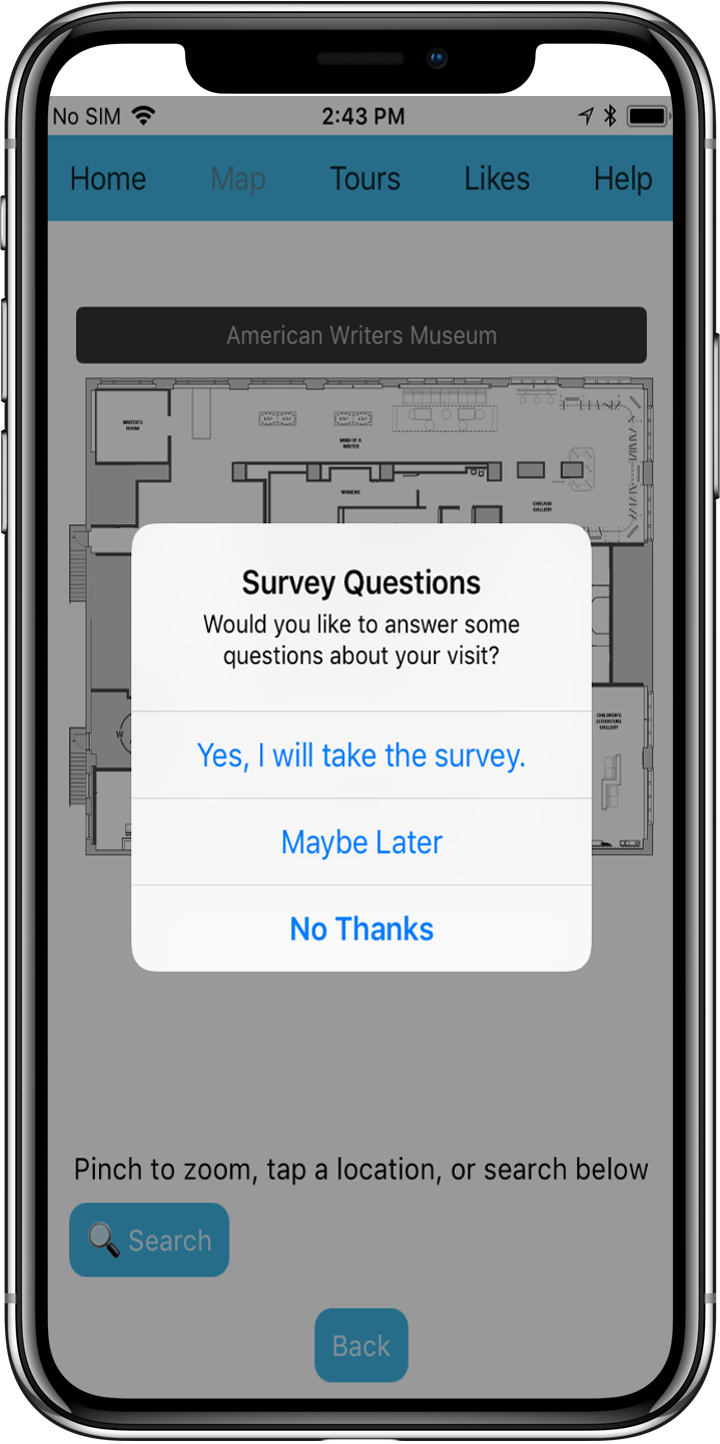 In-App Survey Popup