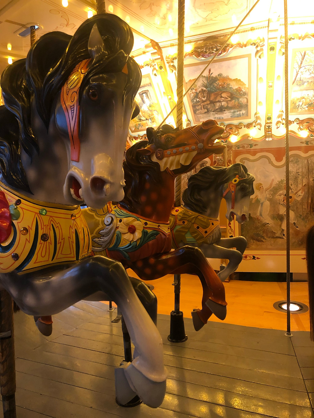 Historic carousel at The Grand Rapids Public Museum