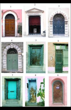 Doors 1-9