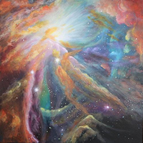 DIVINE PROVENANCE (orion Nebula)