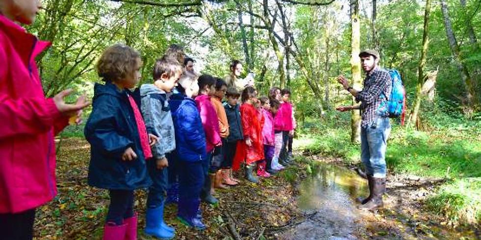 CE2 Classe verte à Pandrignes « Comparaison des milieux aquatiques »