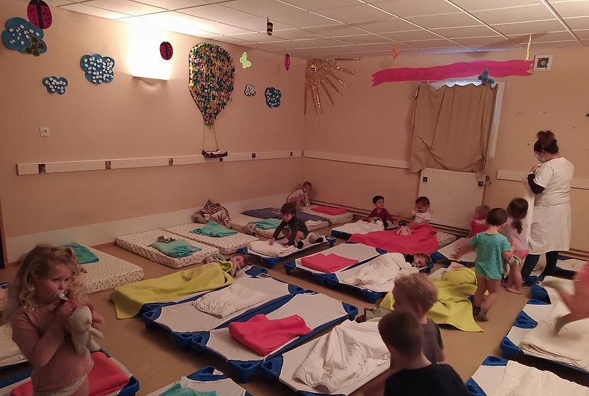Dortoir Ecole Maternelle Argentat