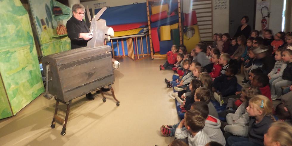 Maternelle Spectacle de théâtre (compagnie l'arbre et le tapis)