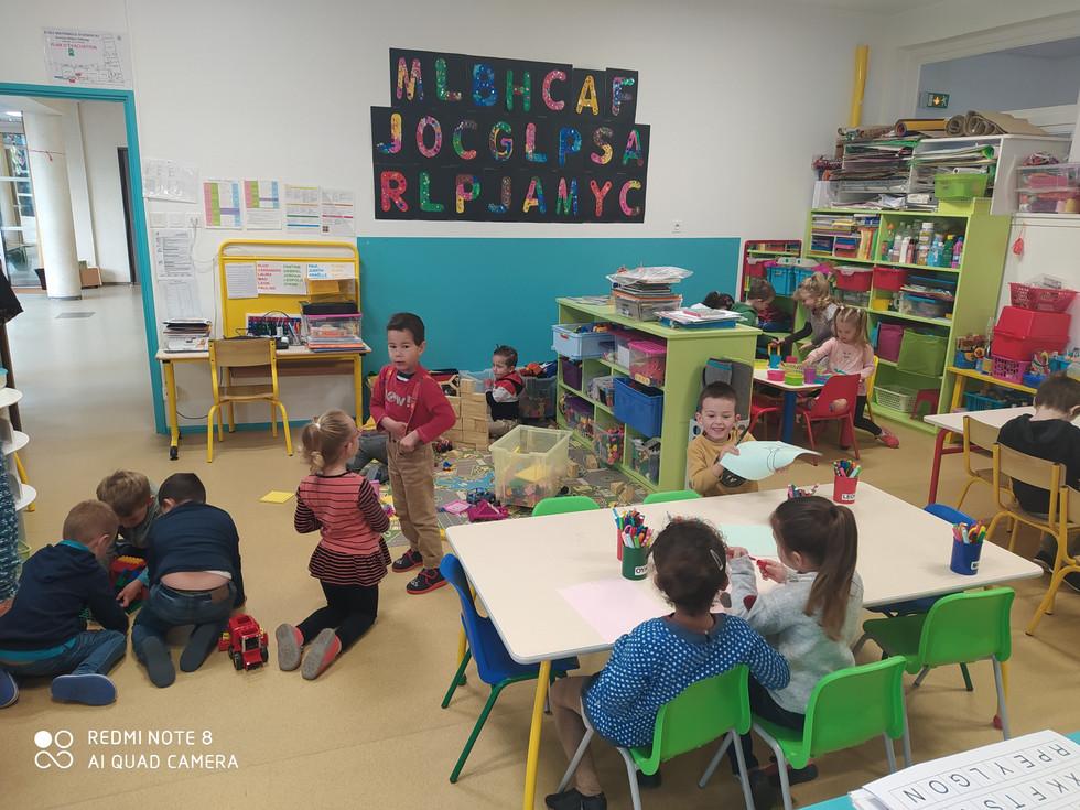Salle de classe MS