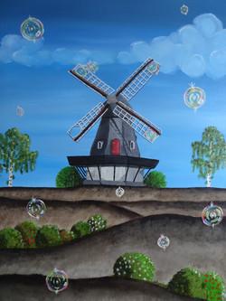Seifenblasenmühle