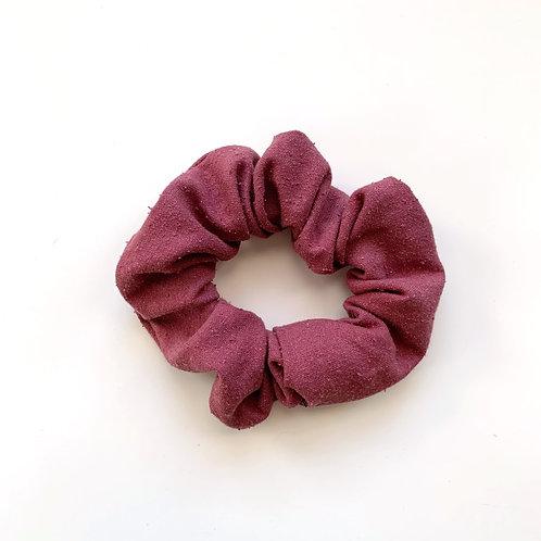 Raw Silk Scrunchie