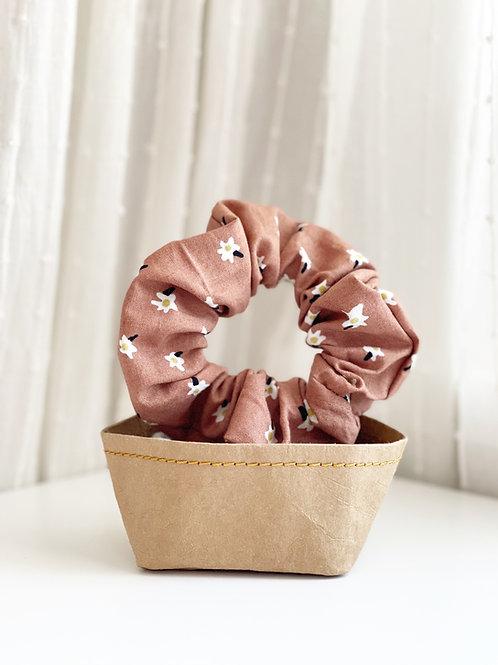 Floral Patterned Scrunchie