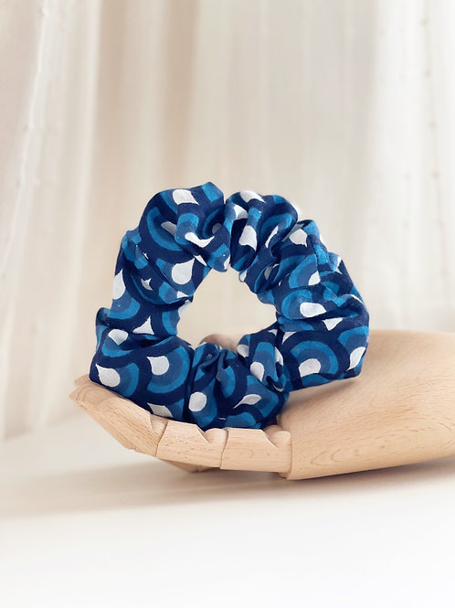 Abstract Remnant Scrunchie