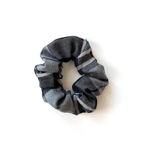 Gray Flannel Scrunchie