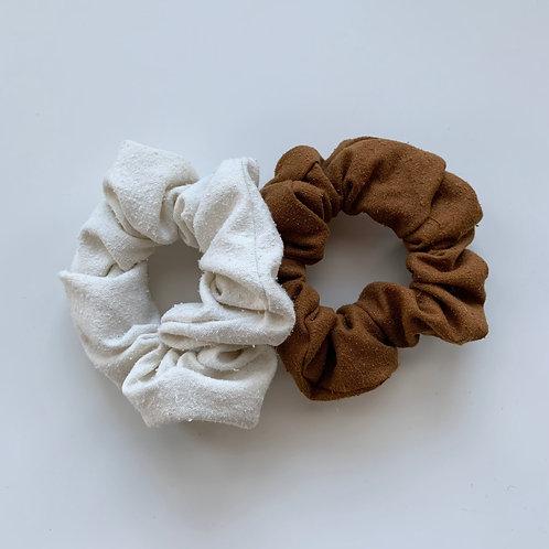 Raw Silk Scrunchie Bundle
