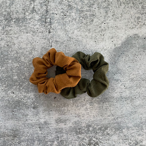 Raw Silk Scrunchie Bundle