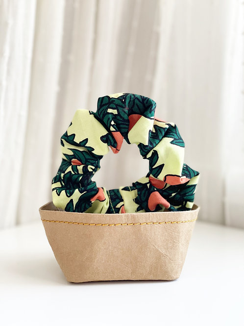 Fruit Patterned Scrunchie