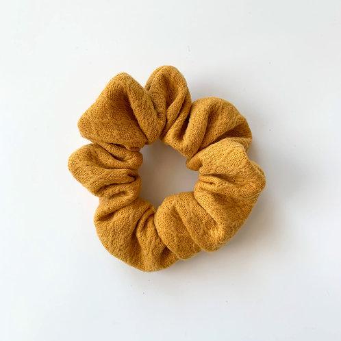 Yellow Pattern Scrunchie