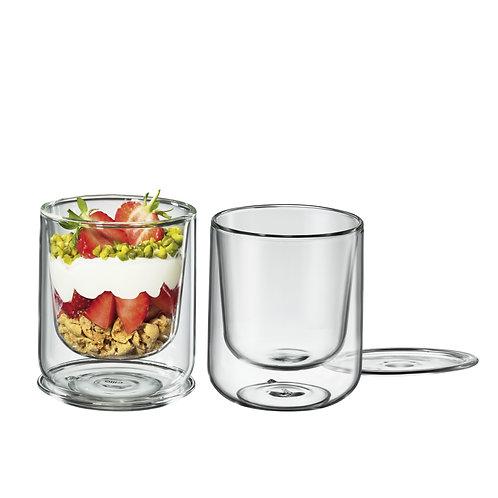 Cilio - 2er Set Dessert & Vorspeisen Glas, 250 ml