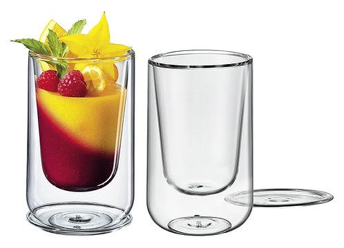 Cilio - 2er Set Dessert & Vorspeisen Glas, 300 ml