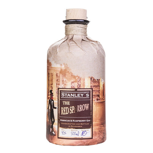 Stanley's -  Red Sparrow Hibiscus Gin, 0,5 l