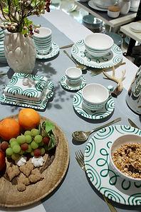 Gmundener Keramik - Gruen Geflammt - Tav