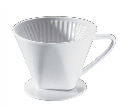 Cilio - Porzellan Kaffeefilter, Gr. 4