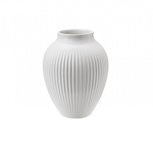 Knabstrup Vase 12,5 cm, weiß