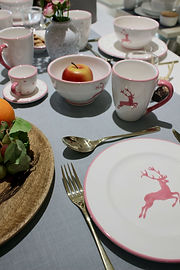 Gmundener Keramik - Rosa Hirsch Geschirr