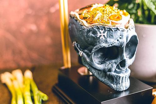 Runic Blue Ramen Bobkin Skull