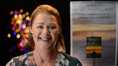Virtual book launch of Awaken Your Wellbeing 2020