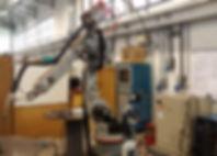Robô de 6 articulações