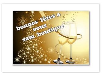bonne fête de fin d' année