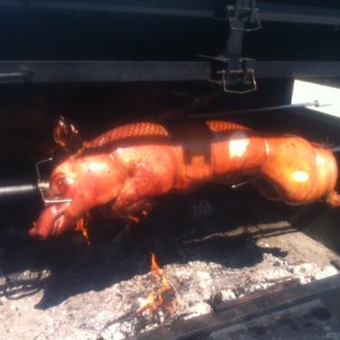 Méchoui porc