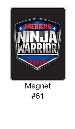 American Ninja Warrior Magnet