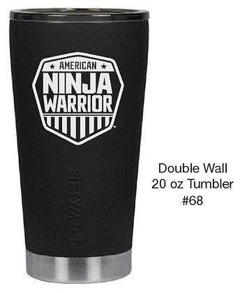 American Ninja Warrior Double Wall 20 oz Tumbler