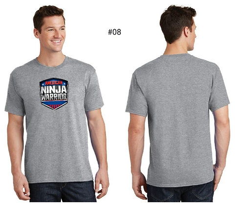 American Ninja Warrior Men's T-Shirt (Gray)